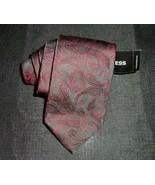EXPRESS DESIGN STUDIO BLACK & RED PAISLEY MEN'S DRESS TIE NECKTIE NEW W/... - $12.20