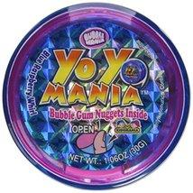 Bubble Mania Yo Yo Mania Bubble Gum Nugget Yo Yo Novelty Candy Toy (Pack... - $21.60