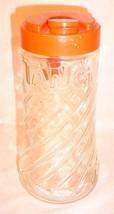 VINTAGE 1 QT TANG ORANGE DRINK ADVERTISING PITCHER DECANTER ASTRONAUT'S ... - $21.64