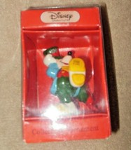 1989 Disney Schmid Porcelain Mickey Mouse Christmas Ornament In Orig Box - $19.99