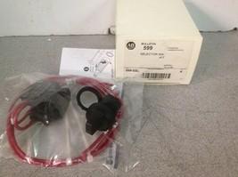 AB Bulletin 599-SSL 599 Selector SW Kit 3 Position Hand/OFF/AUTO - $60.00