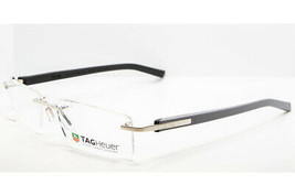 Tag Heuer 8109 013 TRENDS Gray Black Titanium Eyeglasses TH8109-013 56mm - $187.11