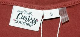 Simply Noelle Curtsy Couture Girls Cutout Long Sleeve Shirt Paprika Size Medium image 4