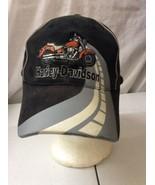 trucker hat baseball cap Vintage Hook & Loop HARLEY DAVIDSON - $39.99