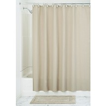 InterDesign York Hotel Fabric Cotton and Polyester Blend Shower Curtain,... - $41.55