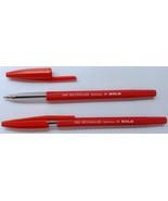 10 Ball Point Pens  Red Ink  10 x Reynolds 040 Bureau N Bold BallPoint Pens - $6.44