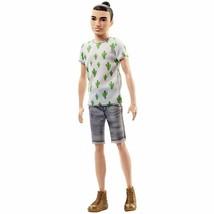 Fashionista Ken 16 Cactus Cooler Hipster Man Bun Slim Body Brand New Fas... - $20.00