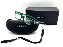 Authentic Dolce & Gabbana DG 1204 1773 Black/Green 53*16*135 Eyeglasses - $58.17