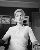 Alexandra Bastedo in The Champions portrait in chair vintage computers 16x20 Can - $69.99