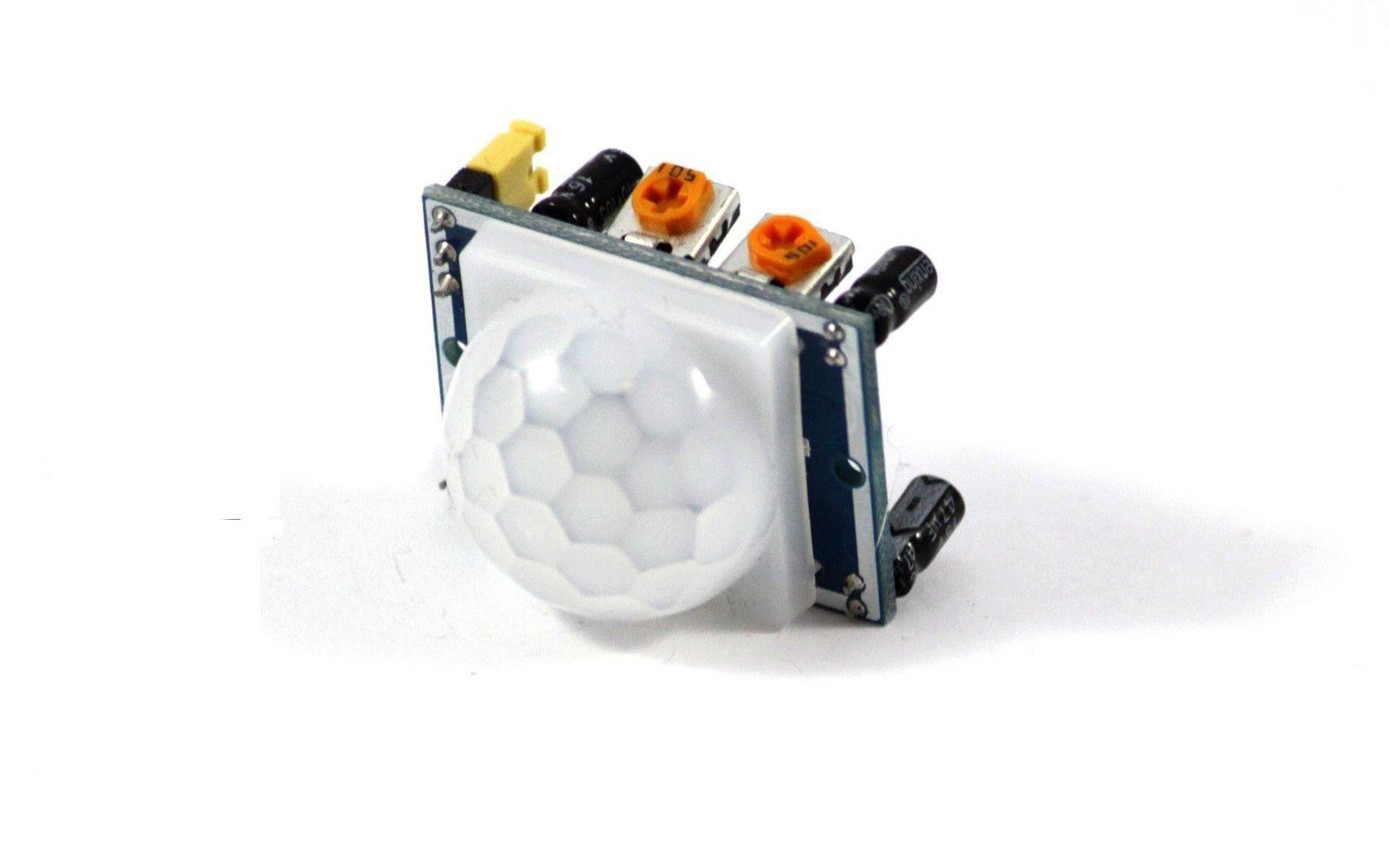 Bewegungsmelder Infrarot-Modul Motion Sensor PIR HC-SR501 Arduino Raspberry PI