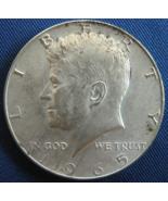 1965 Kennedy - Some Toning - Half Dollar - 40% SILVER - (sku#4880) - $5.50