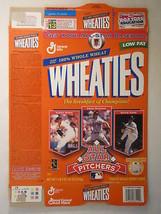 Empty WHEATIES Box 1997 18oz ALL STAR PITCHERS Nomo Maddux Cone [Z202h6] - $8.12