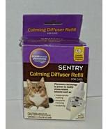 Sentry Calming Diffuser Refill For Cats 1.5 Fl Oz Bottle New Open Box (R) - $17.81