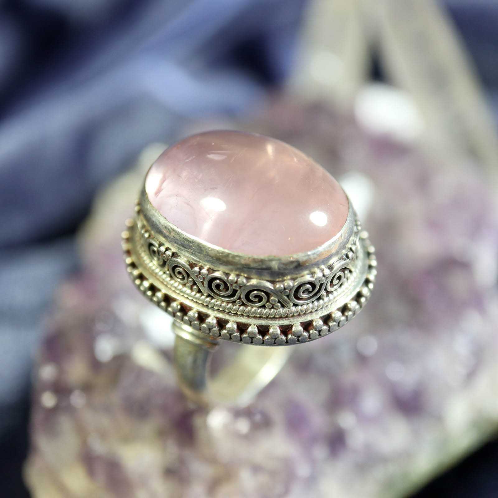 Gypsy Queen Psychic Fortune Telling Ring of Past, Present & Future Visions! ESP - $299.99