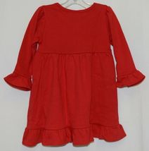 Blanks Boutique Red Long Sleeve Empire Waist Ruffle Dress Size 12M image 3