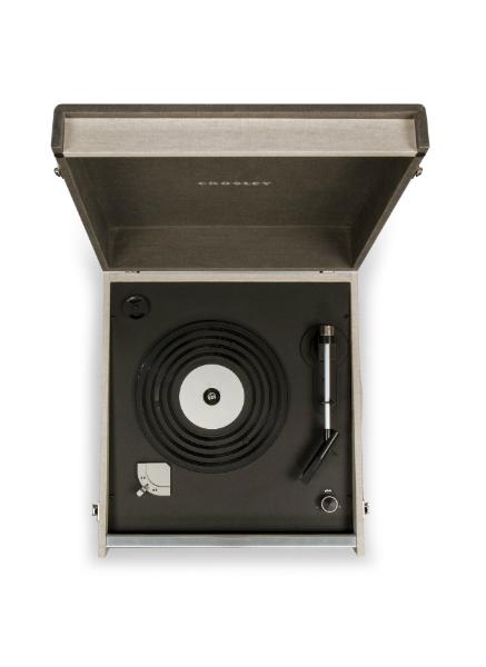 Crosley Bermuda Deluxe Turntable - Black CR6233D-BK
