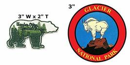Wander Often Wander Always and Glacier National Park Series 2-Pack Embroidered P - $7.81