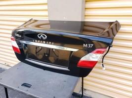 11-13 Infiniti M37 Rear Trunk Lid Tail Gate W/ Back-Up Camera image 2