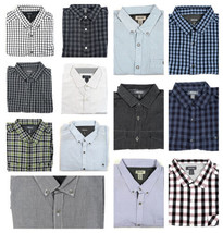 Kenneth Cole Reaction Shirt Men's Regular Fit Long Sleeve Button-down Cotton