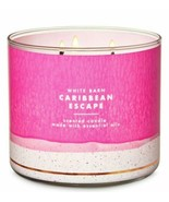 Bath & Body Works Caribbean Escape 3 Wick Scented Candle 14.5 oz - $28.04