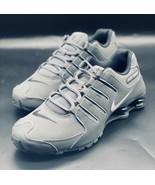 NEW Nike Shox NZ Black Dark Grey 378341-059 Size 8 NO BOX TOP - $118.79