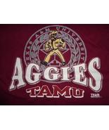 RARE Vintage Team EditionTexas A&M Aggies SEAL OL' Sarge NCAA Tshirt Men... - $21.62