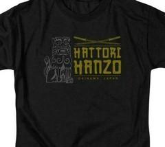 Kill Bill T-shirt Hattori Hanzo Okinawa Japan movie graphic tee MIRA111 image 2
