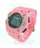 Diamond Shock by King Master 12 Diamond sports Pink / orange color watch - $12.99
