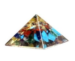 25-30mm Orgone Mixed pyramid - $15.99