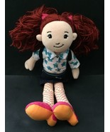 Groovy Girls Ailene Doll Plush Stuffed Toy Red Hair Pigtails Removable C... - $11.87