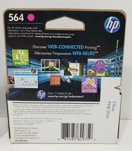 HP 564 3 Ink Cartridges. 2 Expired 2018, 1 Expires Feb. 2019. Factory Sealed image 8
