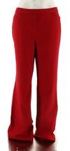 Liz Claiborne Hepburn Denim Pull-On Boot Cut Pants Cardinal Red 20W NEW ... - $24.73