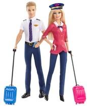 Barbie Careers Barbie and Ken Doll Pilots Giftset (2-Pack) - $89.73
