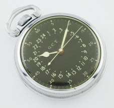 Hamilton Stainless Steel GCT WWii 4992B Pocket Watch - $831.60