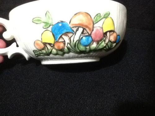 Mushroom soup bowl Arnel's pottery
