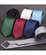 Men Solid Classic Tie Plain Wedding Business Necktie Jacquard Casual Ski... - $6.99