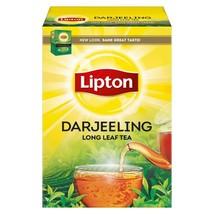 Lipton Darjeeling Long Leaf Tea Label 100 Grams - $10.41