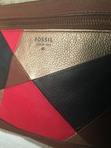 Fossil 1954 Leather Patchwork Crossbody Handbag - $26.00