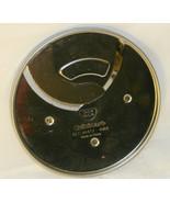 Cuisinart DLC-8 or DLC-10 Food Processor 4mm Slicing Disc Blade (DLC-844TX) - $3.98