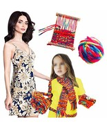 Funny Craft Fashion Weaving Loom Features A Sturdy Frame and Chunky Rain... - $15.63