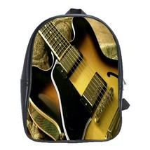 Backpack School Bag Music Editions Instrument Guitar Gaming Song Anime Fantasy - $33.00