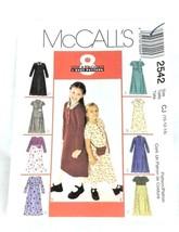 Vintage Sewing Pattern Kids Child 1990s Size 10 12 14 Dress Belt Bag Unc... - $6.57