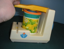 Vtg. Fisher Price Fun with Food #2112 Pop Top Can Opener VG-VG+ (H) (Rough Room) image 5