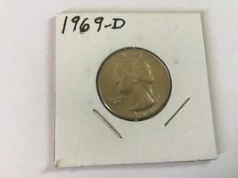 1969-D Washington Quarter - $10.00