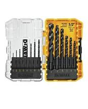 Dewalt DWA1184 14Piece Set Black Oxide Coated Hss Twist Drill Bit Set - $19.00