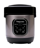 Magic Chef MCSRC03ST 3-Cup Stainless Steel Rice Cooker - $47.67