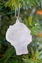 Hallmark  Frosted Images  Santa Claus  1980 Keepsake Ornament - $10.19