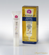 DERMACOL EYE GOLD GEL Eliminates Dark Under eye Circles Puffiness Tired ... - $17.99