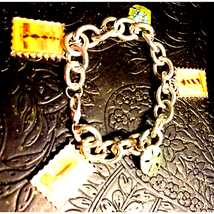 Vintage Silver Lighthouse Bracelet - $21.78