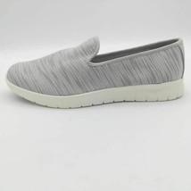 Lands End Womens Comfort Flat Shoes Silver Graphite Lightweight Slip Ons 8.5B - $25.73